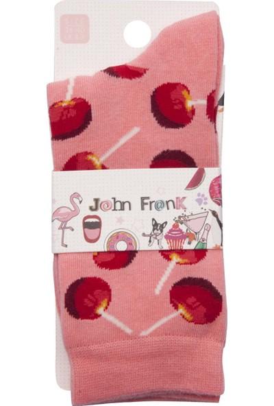 John Frank Kadın Çorap Wjflsfun19-03