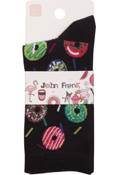 John Frank Kadın Çorap Wjflsfun19-23