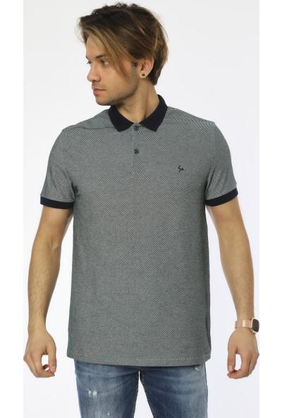 Louis Park Büyük Beden Basic Pike Erkek Polo T-Shirt 19LY535