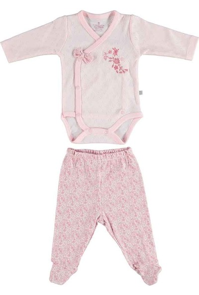 Bibaby Pink Flowers Bebek Body 56569