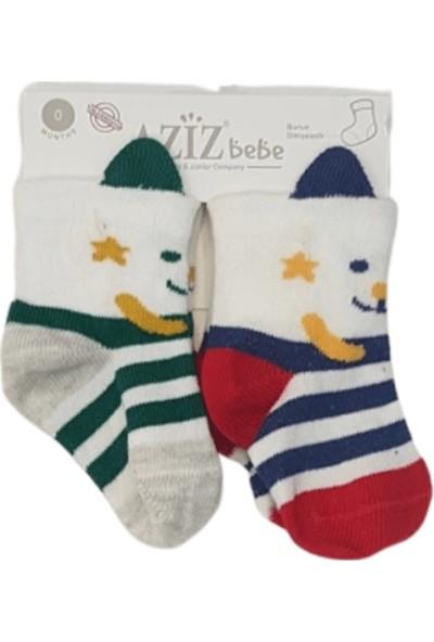 Aziz Bebe C35421 Bebek 2'Li Çorap