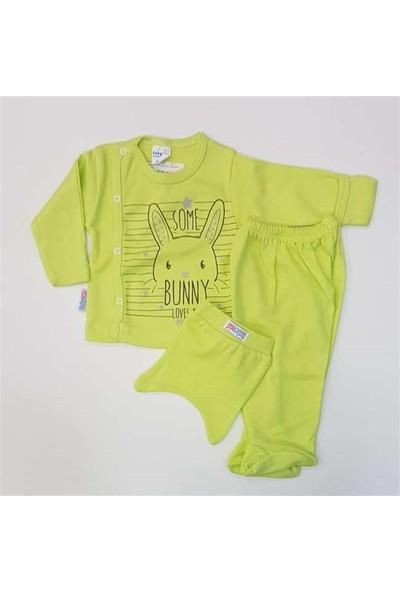 Babycan 0102 3'Lü Zıbın Seti Yeni Doğan