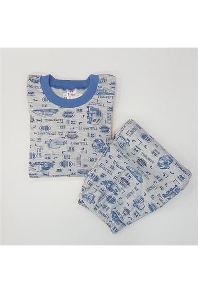 Samet Kids 3002 The Best Erkek Çocuk Pijama Takımı