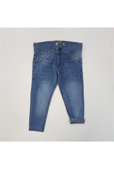 Süzgün Kids 8550 Likralı Erkek Çocuk Kot Pantolon