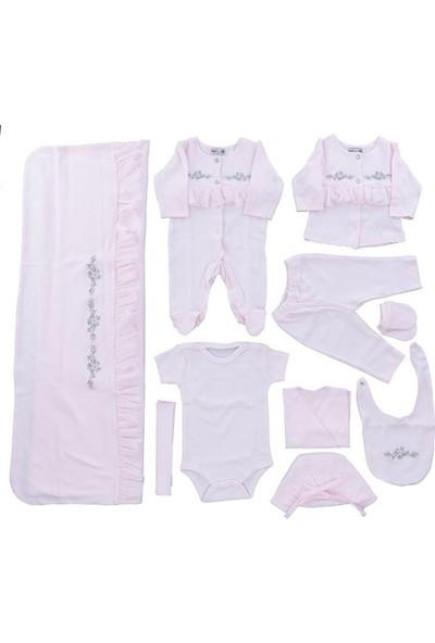 Bip Baby 727312 Kız Bebek 10'Lu Hastane Çıkışı Pembe