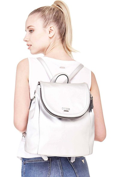 Guess Terra Large Backpack Kadın Çanta Hwey6432320 Sil