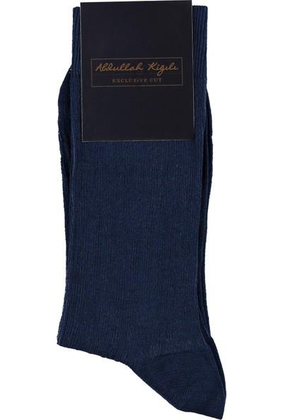 Kiğılı Çizgili Merserize Çorap