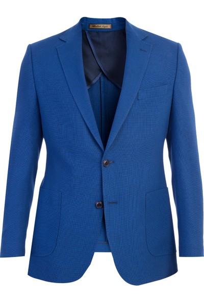 Kiğılı İtalyan Desenli Ceket