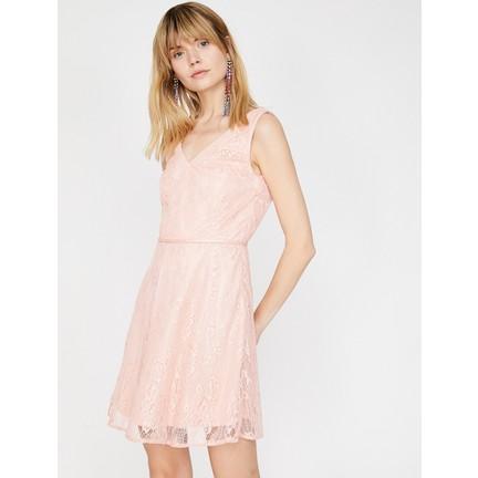8d42cdfcbb547 Koton Dantel Detaylı Elbise Fiyatı - Taksit Seçenekleri