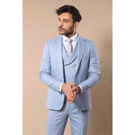 5b4e2867cfac2 Wessi Buz Mavi Yelekli Takım Elbise Fiyatı - Taksit Seçenekleri