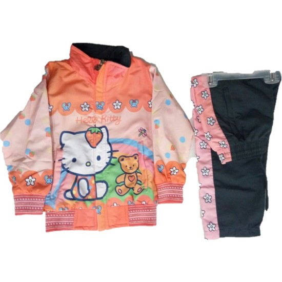 Lavinya Hello Kitty Kız Çocuk Eşofman Takım
