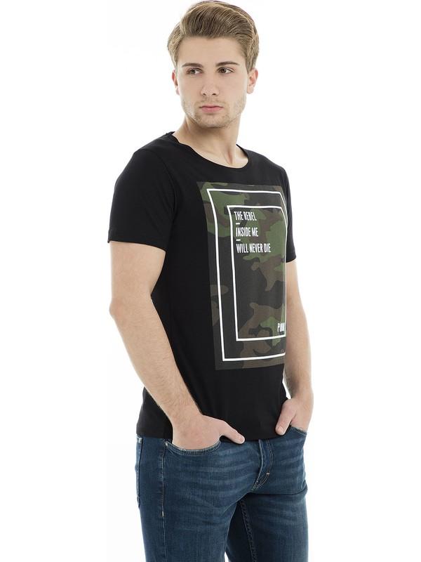 Manche T Shirt Erkek T Shirt Me19S214424