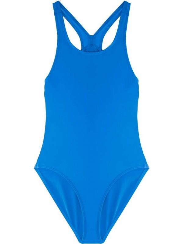 Ayyıldız Kız Çocuk Cc0017 Yüzücü Mayosu Mavi-1