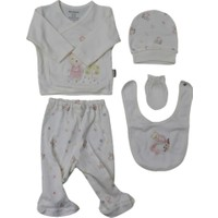 Minilamb 5'li Bebek Hastane Çıkış Seti 27004
