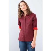 U.S. Polo Assn. Kadın Dokuma Gömlek 50213904-Vr033