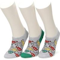I Cool Beep Beep 3 Lu Suba-B Yesıl Multı Erkek Çocuk Çorap