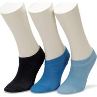 I Cool Basic 3 Lu Ptk-B Mavı Multı Erkek Çocuk Patik Çorap