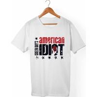 Muggkuppa Green Day Unisex-Kadın Beyaz T-Shirt