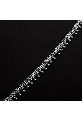 Midyat Nurtaş Gümüş Kişniş Model Midyat Telkari El İşçiliği Gümüş Halhal