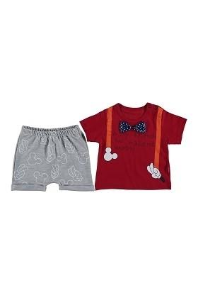 Beboo Papyonlu Şortlu Takım