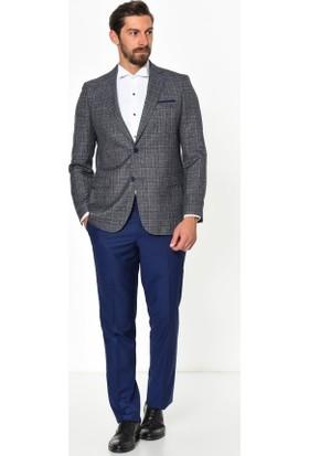 Comienzo Regata Mn Yaka Kombinli Takım Elbise 10789-Gri