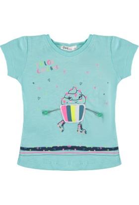 1eafa37d22ae8 Civil Kız Çocuk T-Shirt 2-5 Yaş Mint Yeşili ...
