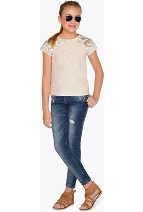 Mayoral Kız Çocuk Pantolon-Denim