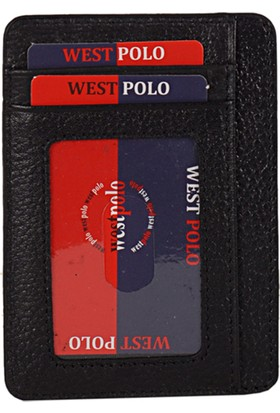 West Polo 358 Erkek Cüzdan Siyah