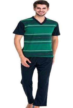 Güneş 5360 Kısa Kol Erkek Pijama Takım Battal Boy