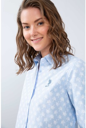 ed8cdd1fb63ce U.S. Polo Assn. Kadın Gömlekler ve Modelleri - Hepsiburada.com