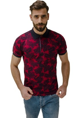 Comienzo Baskılı Polo Yaka T-Shirt