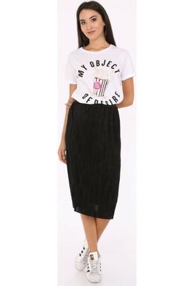 Her Mod'A Bir Moda Pop Corn T-Shirt