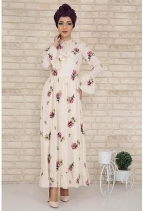 dd5a41f374f5b Tesettür Çiçekli Elbiseler Fiyatları ve Modelleri - Hepsiburada