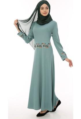 3ba063f3265af Yesil Tesettür Elbise Modelleri ve Fiyatları & Satın Al