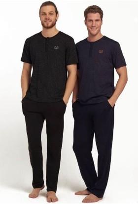 Mod 3118 Erkek Pijama Takımı Siyah
