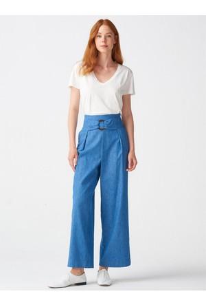 231bb624359e3 Mavi Yüksek Bel Pantolon Modelleri ve Fiyatları & Satın Al