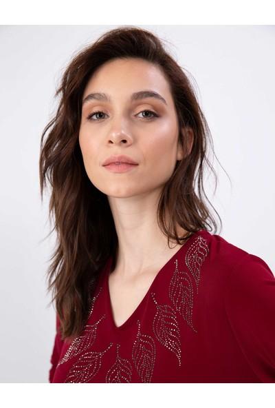 Pierre Cardin Kadın Dokuma Gömlek 50197800-Vr014