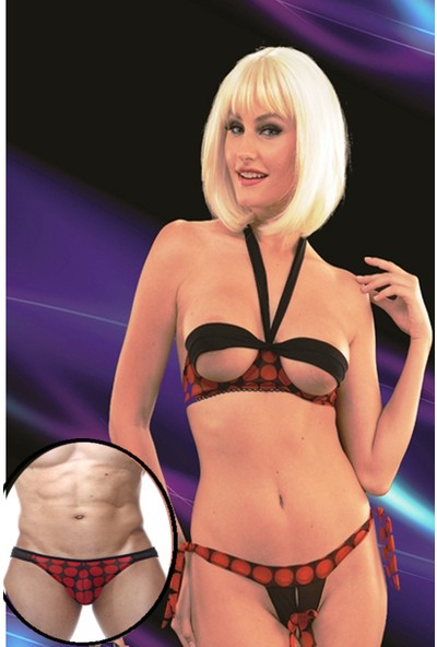 La Blinque Erotik Sevgili Kadın Çamaşır Kombini