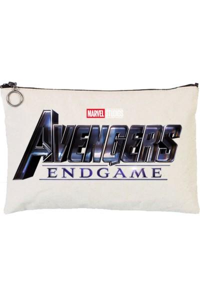 Art T-Shirt Avengers Endgame Tablet Ve Makyaj Çantası