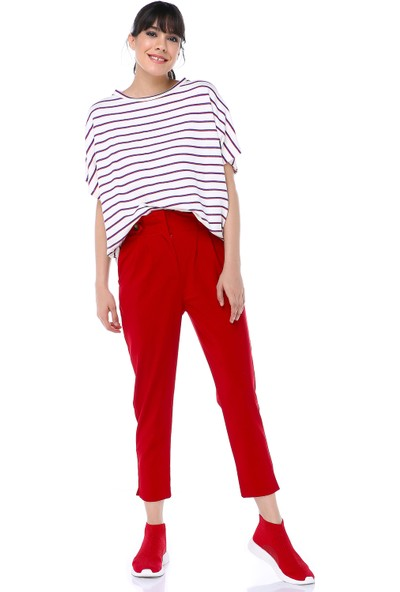 Cream&Rouge 17Y415 Pantolon Süs Düğmeli