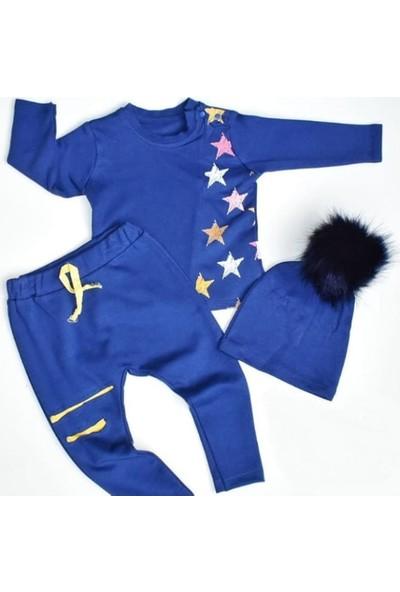 Wogi Erkek Bebek W-Blue/doğru Mavi 3 Lü Takım