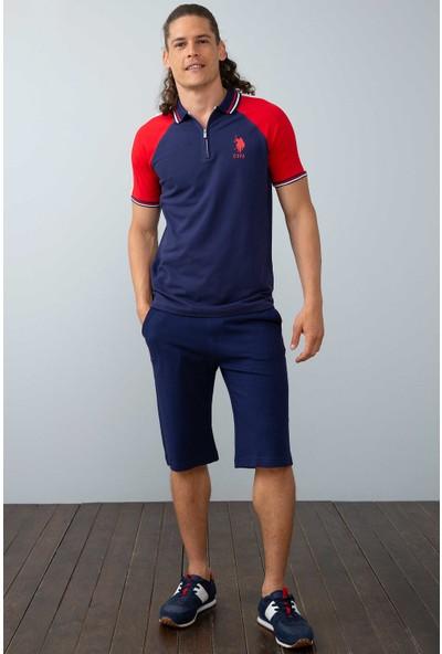 U.S. Polo Assn. Erkek Örme Capri Bermuda 50199141-Vr033