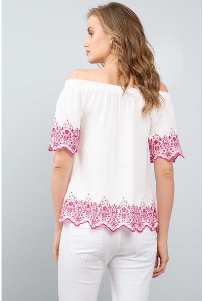 U.S. Polo Assn. Kadın Dokuma Gömlek 50199147-Vr013