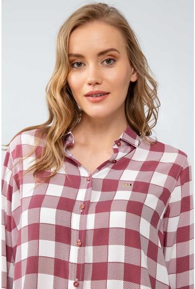 U.S. Polo Assn. Kadın Dokuma Gömlek 50199613-Vr014