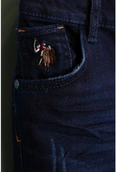 U.S. Polo Assn. Erkek Çocuk Denim Pantolon 50199634-Dn0023