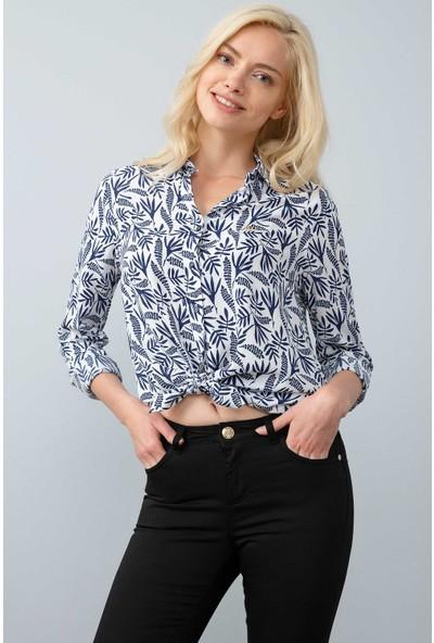 U.S. Polo Assn. Kadın Dokuma Gömlek 50199659-Vr033