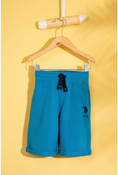 U.S. Polo Assn. Erkek Çocuk Örme Capri Bermuda 50200216-Vr028