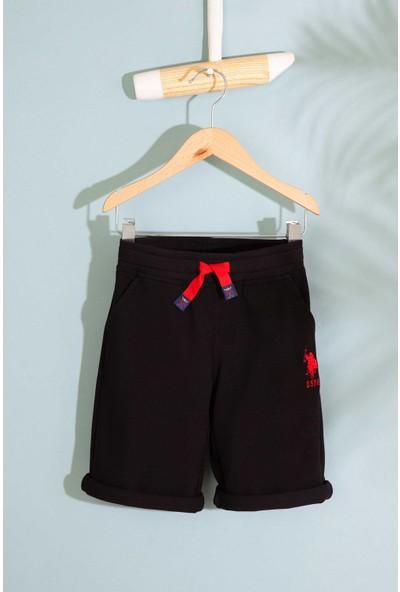 U.S. Polo Assn. Erkek Çocuk Örme Capri Bermuda 50200216-Vr046