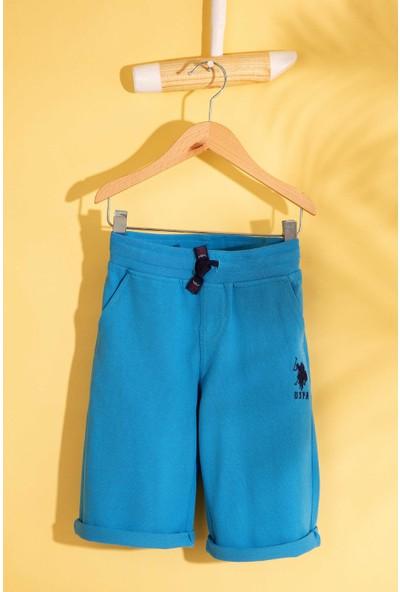 U.S. Polo Assn. Erkek Çocuk Örme Capri Bermuda 50200216-Vr077