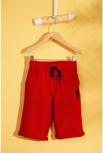 U.S. Polo Assn. Erkek Çocuk Örme Capri Bermuda 50200216-Vr171